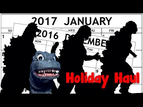 Da Krazy Kaiju shows off his Holiday Haul.