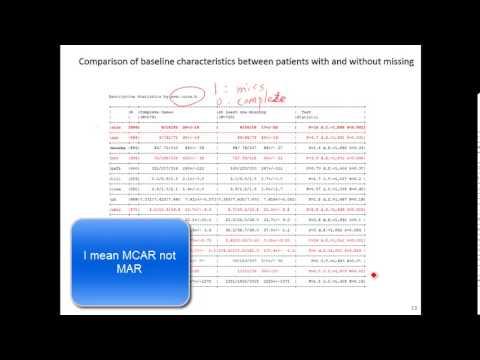 Missing Data Analysis - Multiple Imputation, EM Method