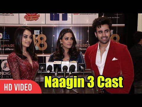 Naagin 3 Cast At ITA Awards 2018   Surbhi Jyoti, Anita Hassanandani, Pearl V Puri thumbnail