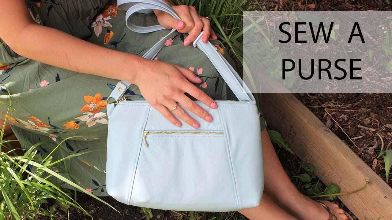 Sew a Purse: The Sunshine Crossbody by BagStock Designs Patterns