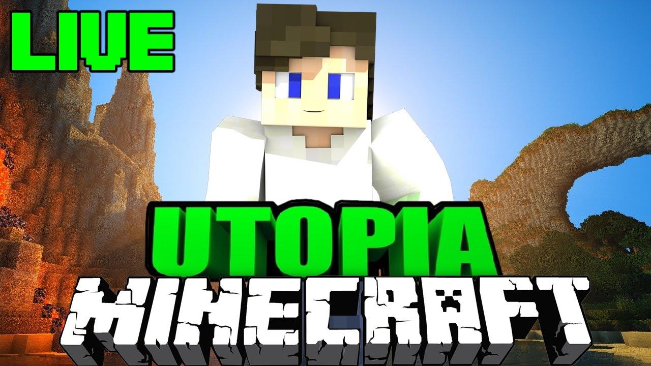 Live Minecraft Utopia ModpackNachstellung Für Den TechnicLauncher - Minecraft utopia spielen