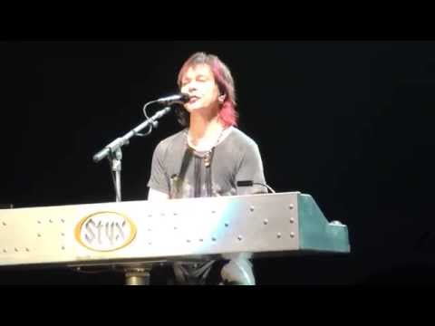 Styx - Lawrence Gowan - Medley and Come Sail Away 2/13/2015 Muncie, Indiana