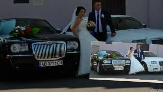 Авто на свадьбу, кортеж Винница
