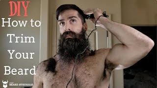 The Beard Struggle - Trim Your Beard Like A Viking - DIY  |  | Daniel Zigler