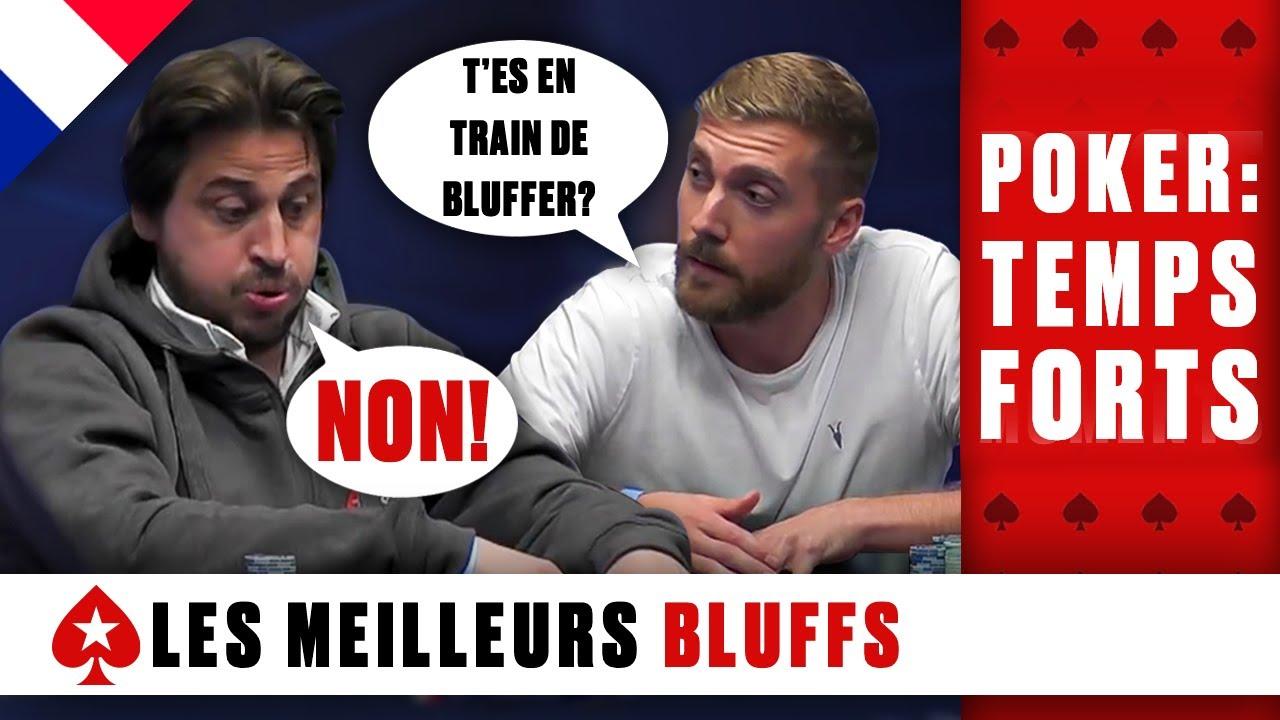 BLUFFS de pros ♠️ Poker: Temps Forts ♠️ PokerStars en Français
