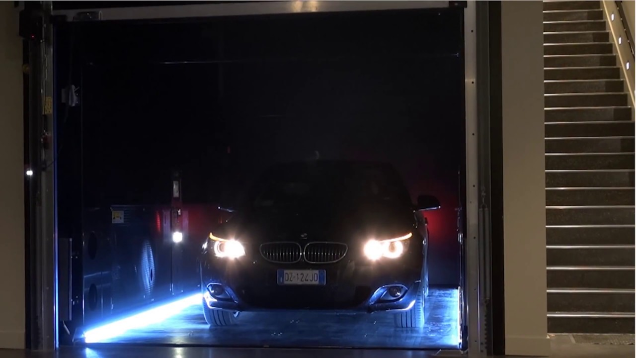 invisible car lift ip1 cm mob installation in swiss youtube