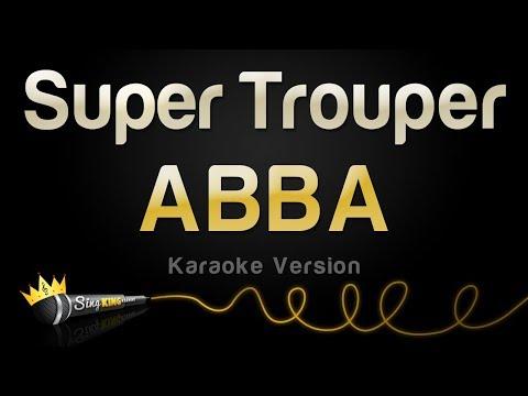 ABBA - Super Trouper (Karaoke Version)