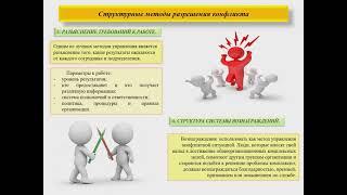 Лекция 02 10 21 студенты целевой подготовки Конфликты и переговоры