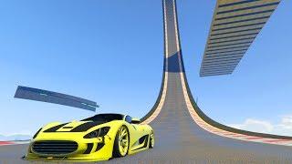 ACROBACIAS SUPER IMPOSIBLES!! - CARRERA GTA V ONLINE - GTA 5 ONLINE