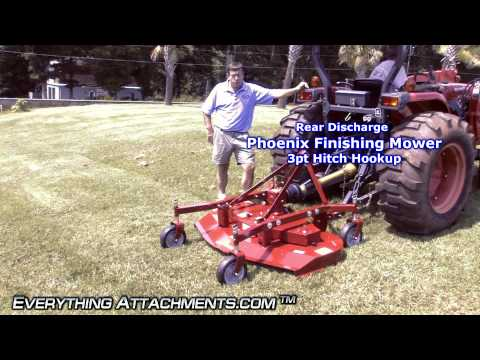How to Use a Finishing Mower