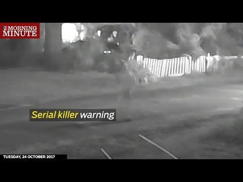 Serial killer warning