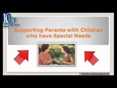 Resources for parents of children with special needs Episode 66 of Transition Tuesday