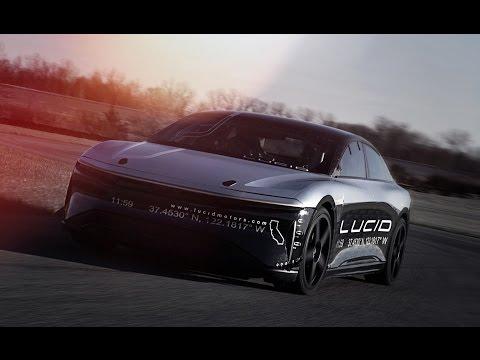 Lucid Air Alpha Speed Car hit a top speed of 217 mph.