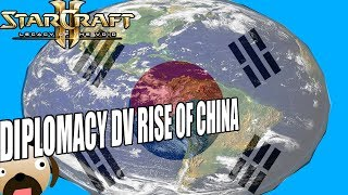 Korean World Empire - Diplomacy DV Rise of China Starcraft 2 Mod