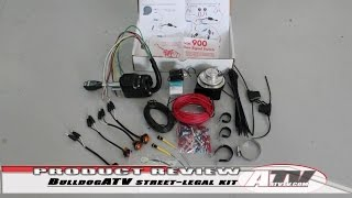 Installing Bulldog Utv Street-legal Kit 2015 Rzr 900 - Atvtv Project