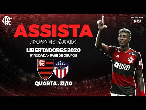 Flamengo x Junior Barranquilla AO VIVO na Fla TV | Libertadores 2020