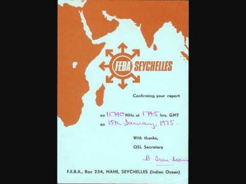 FEBA  Seychelles  11740 kHz  (1975)