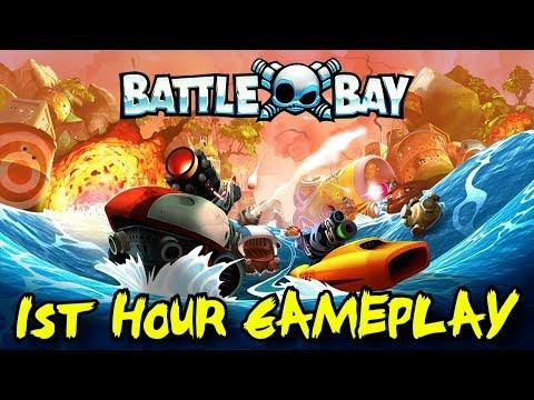 Battle Bay 1st Hour Gameplay Walkthrough: Mobile Multiplayer Mayhem!