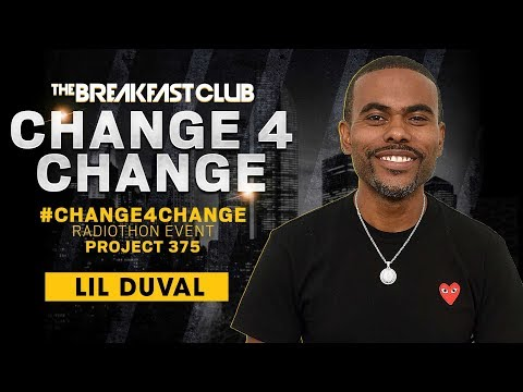 Breakfast Club Interviews - Lil Duval Calls In To Donate $1 During #Change4Change