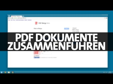 Acrobat Tutorial: Dateien in ein PDF-Dokument zusammenführen from YouTube · Duration:  6 minutes 53 seconds
