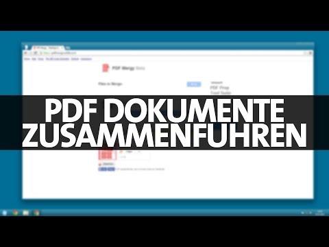 WEB #017 - Mehrere PDF Dokumente zusammenführen (PDF Merge)
