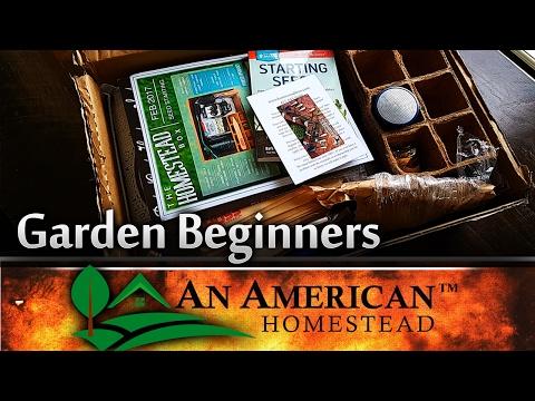 Begin Your Garden In a Box