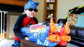 nerf war the terminator