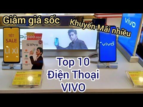 TOP 10 Điện Thoại VIVO giảm sốc, Khuyến Mãi nhiều cuối Tháng 2/2020