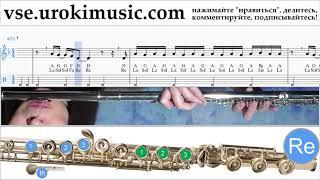 Уроки флейты Imagine Dragons - Natural Ноты Самоучитель um-ih821