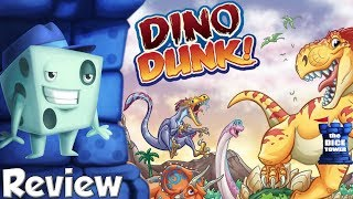 Dino Dunk Review - with Tom Vasel
