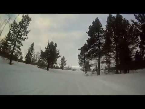 Snowmobile route Skoganvarre-Alta 1.3.2014