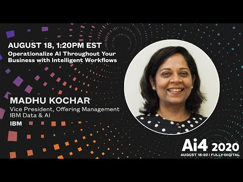 Operationalize AI Throughout your Business with Intelligent Workflows