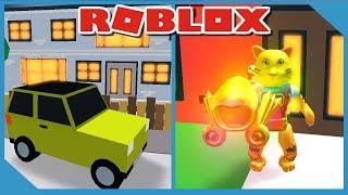Kauf eines Autos in Roblox Delivery Simulator