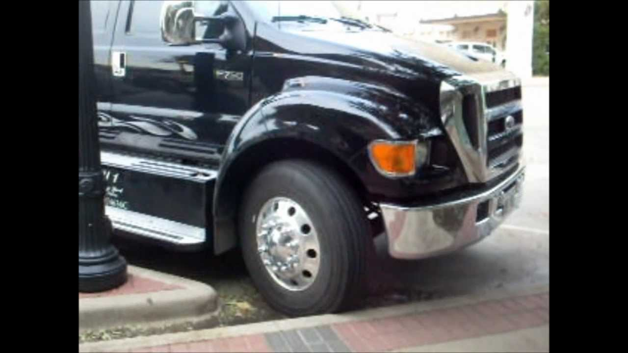 Ford F 650 For Sale >> FORD F-650 VS F-750 - YouTube