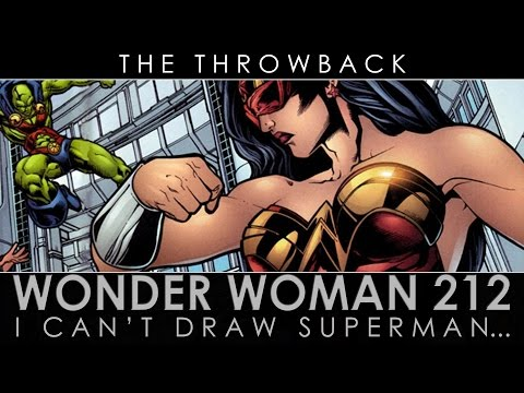 WONDER WOMAN #212 - I CAN'T DRAW SUPERMAN... - THE THROWBACK EP 10