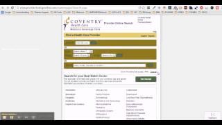 How Lookup Coventry Advantra Medicare Provider Hospital