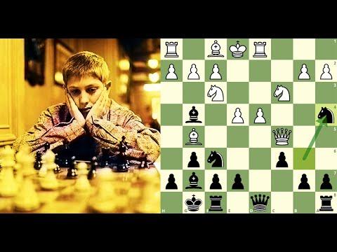 Bobby Fischer (13 Anos) | A Partida Do Século | Donald Byrne X Bobby Fischer (1956)