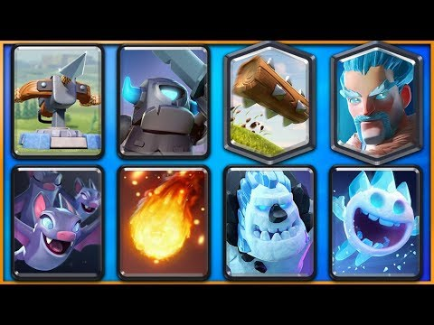 New LADDER & CHALLENGE X-BOW DECK! - Clash Royale