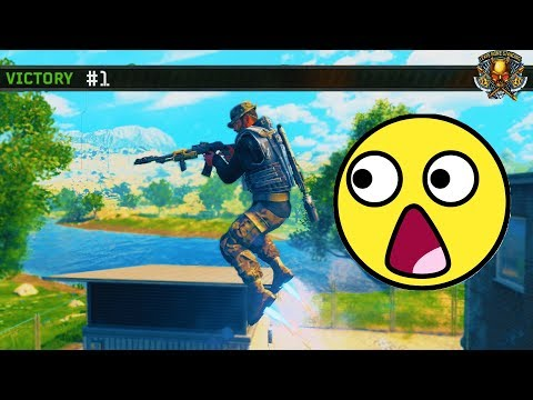 They Added Jetpacks To Bo4... (Bo4 Blackout New Heavy Metal Heroes Game Mode)