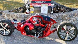 😵 Крутые СамоДельные Мотоциклы 👏!