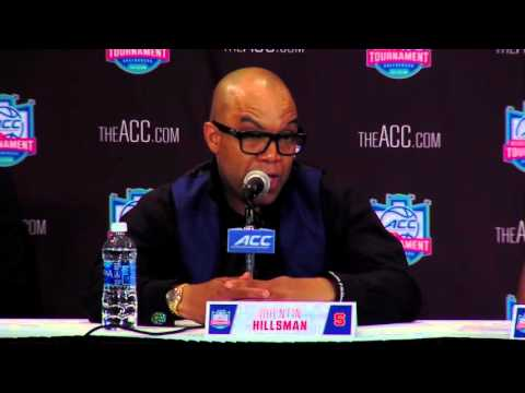 ACC Tournament Championship Game Postgame Press Conference