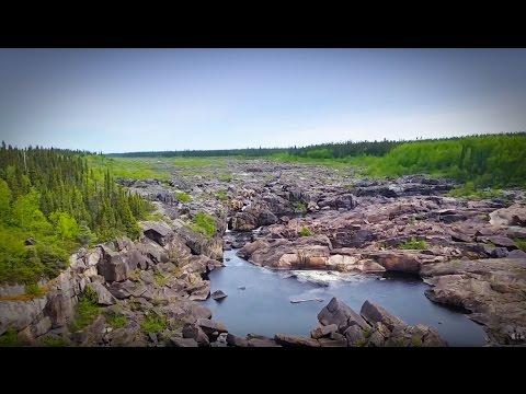GGC - 17 - Churchill Falls on the Trans-Labrador Highway
