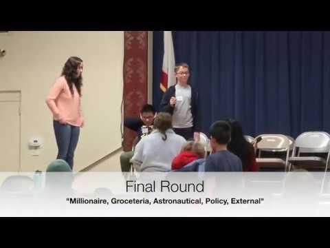Lynhaven Elementary School - Spelling Bee 2020