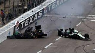 Cart/Indycar Texas all crashes 1997 2016