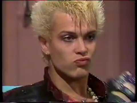 Billy Idol - rare 1984 NZ interview!!