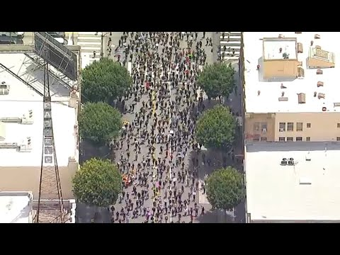 Protests held in Hollywood and throughout Southern Californi