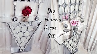 DIY HIGH END LOOKING DECOR WITH DOLLAR TREE ITEMS| DECORATING IDEAS 2019