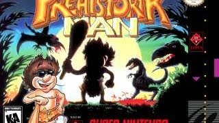 SNES Prehistorik Man Video Walkthrough