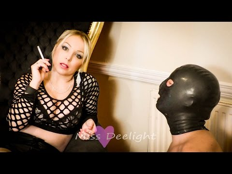 Miss Deelight Femdom Smoking Fetish Human Ashtray Clip Preview from YouTube · Duration:  46 seconds