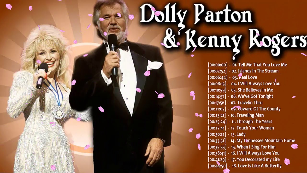 Kenny Rogers, Dolly Parton: Greatest Hits ღ Country Love ...